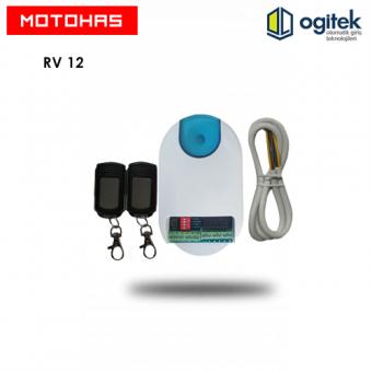 MOTOHAS RV-12 Panjur Kart (İki Adet Kumandalı )