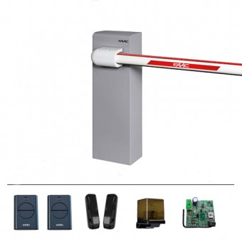 Faac 617  5 MT Otomatik Yuvarlak Kollu Bariyer (Kit)