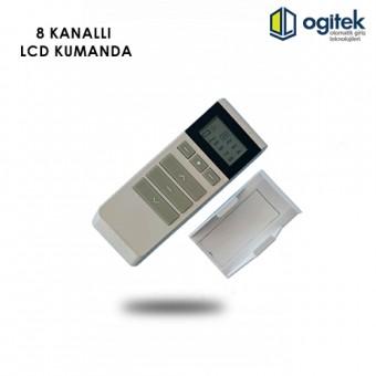 8 Kanallı LCD Kumanda(25 Adet Alımlar İçin)
